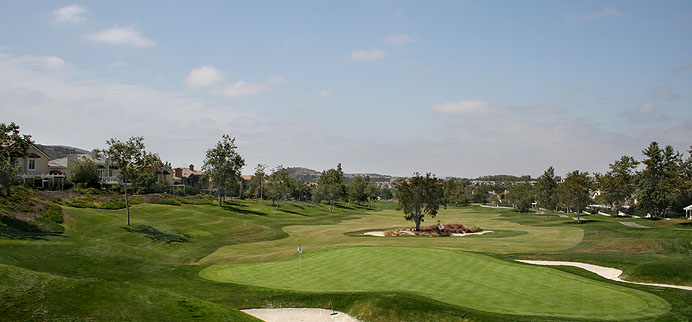 Dove Canyon golf course in Rancho Santa Margarita, CA